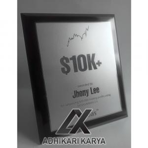 Plakat Award Kayu